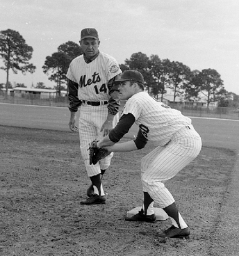 Steve Chilcott and Gil Hodges
