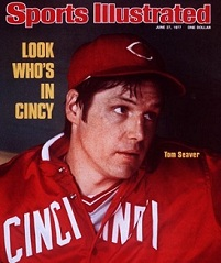 Tom Seaver Cincinnati Reds June 27, 1977X 21158credit:  Walter Iooss Jr.