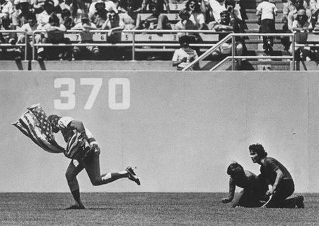 35th Anniversary Of Rick Monday's Flag Save