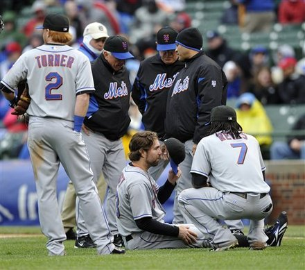 Limp Dickey, Bullpen Collapses, Mets Lose 9-3