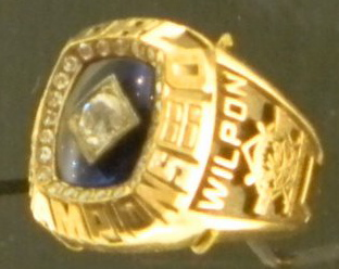 fred wilpon world series ring