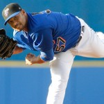 Johan Santana Sharp In Rehab Start