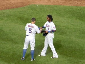 David Wright and Jose Reyes
