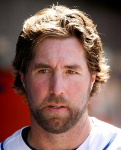 r.a. dickey head shot