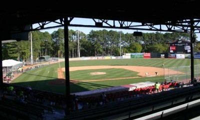 Historic Grayson Stadium : Home of the Savannah Sand Gnats