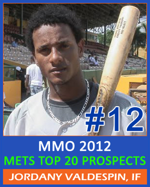 MMO Top 20 Mets Prospects – #12 Jordany Valdespin, INF