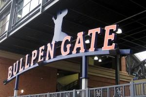 bullpen gate