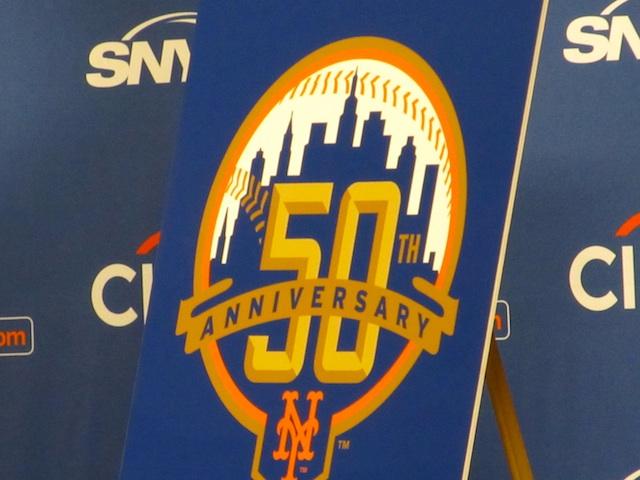 Mets 50th Anniversary Logo