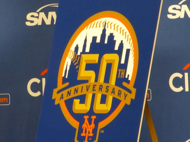 The Mets 50th Anniversary Logo