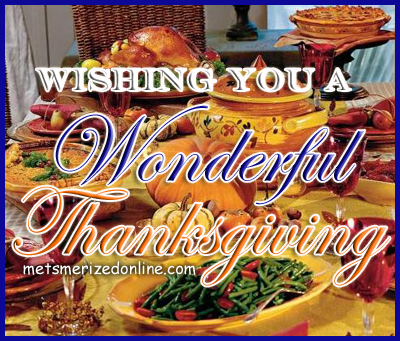 Happy Thanksgiving From MMO!
