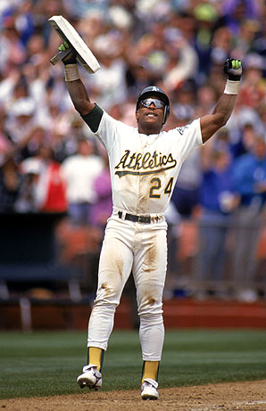 """A Look At """"Unbreakable"""" Records: Rickey Henderson's 1,406 Career Stolen Bases."""