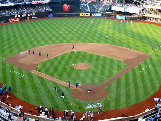 Citi Field's cavernous playing field