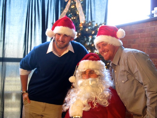 Mets Kids' Holiday Party