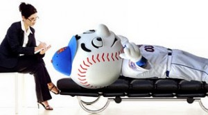 Mr Met Therapy