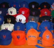 An Amazin' Collection Of Mets Caps