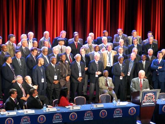 Alumni members of the New York Mets