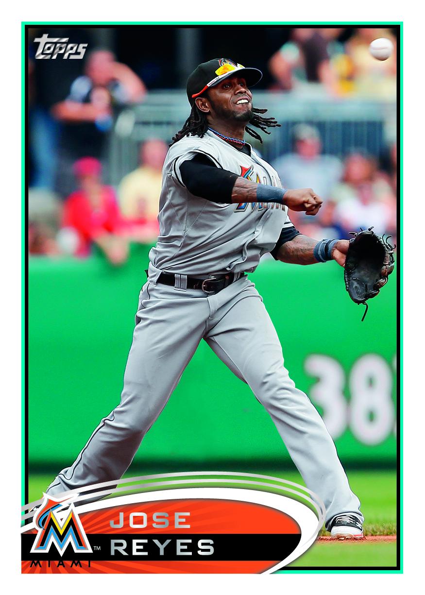 Reality Bites: 2012 Topps Jose Reyes Baseball Card