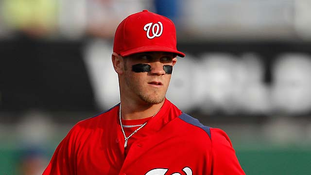 Bryce Harper Headlines MLB's Top 10 Outfield Prospects