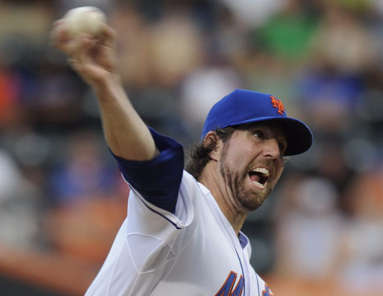 Dickey Is The Best Choice For Mets Ace If Johan Isn't Ready