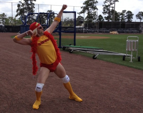 Tim Byrdak Is Hulkamania!