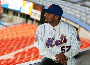 Johan Santana was the last Mets pitcher to record a win at Shea Stadium.  Now he's left to wonder if he'll also be the final current Met to have played his home games there.