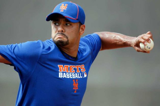 Johan Throws Second Bullpen, Collins Expects Him To Be Ready Opening Day