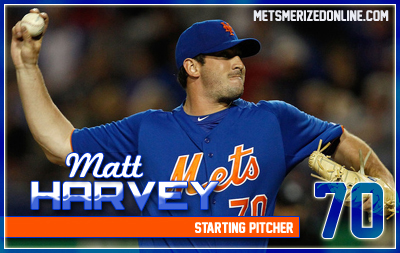 Matt Harvey gave Mets fans a glimpse of what may be to come in the future this past season