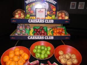 Fruit from Caesar's Club