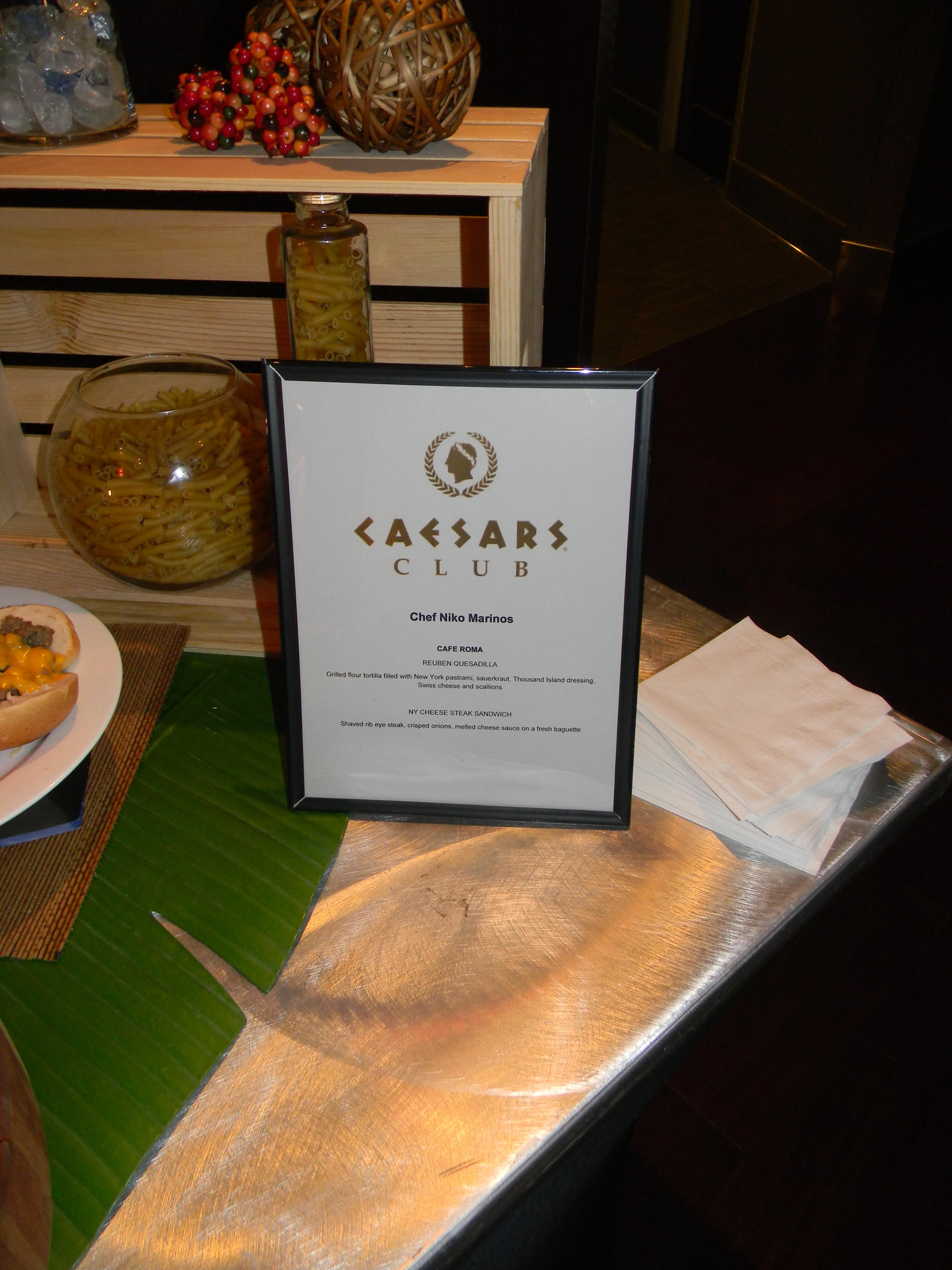 Caesar's Club options