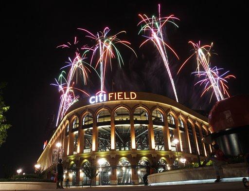 fireworks Citi Field