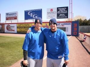 Collin McHugh & Mark Cohoon Photo by Petey Pete