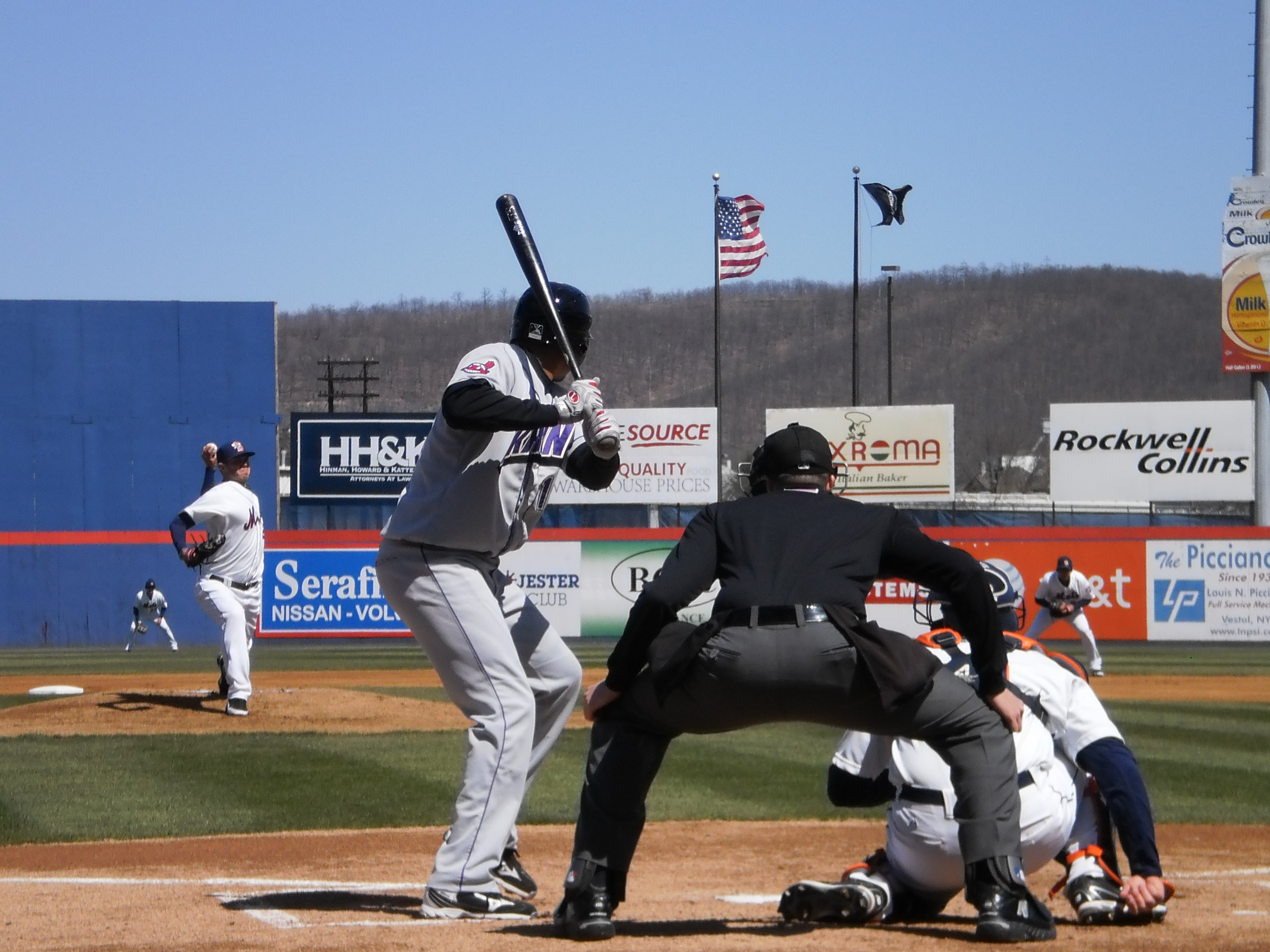 On The Road With Petey Pete: The Binghamton Mets