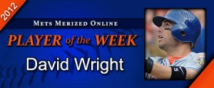 David Wright Player of the Week