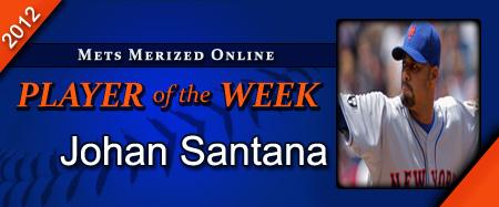 MMO Player Of The Week: Johan Santana