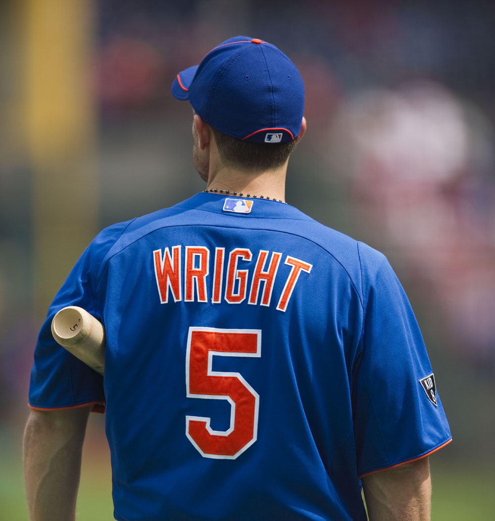 David Wright Shows Leadership