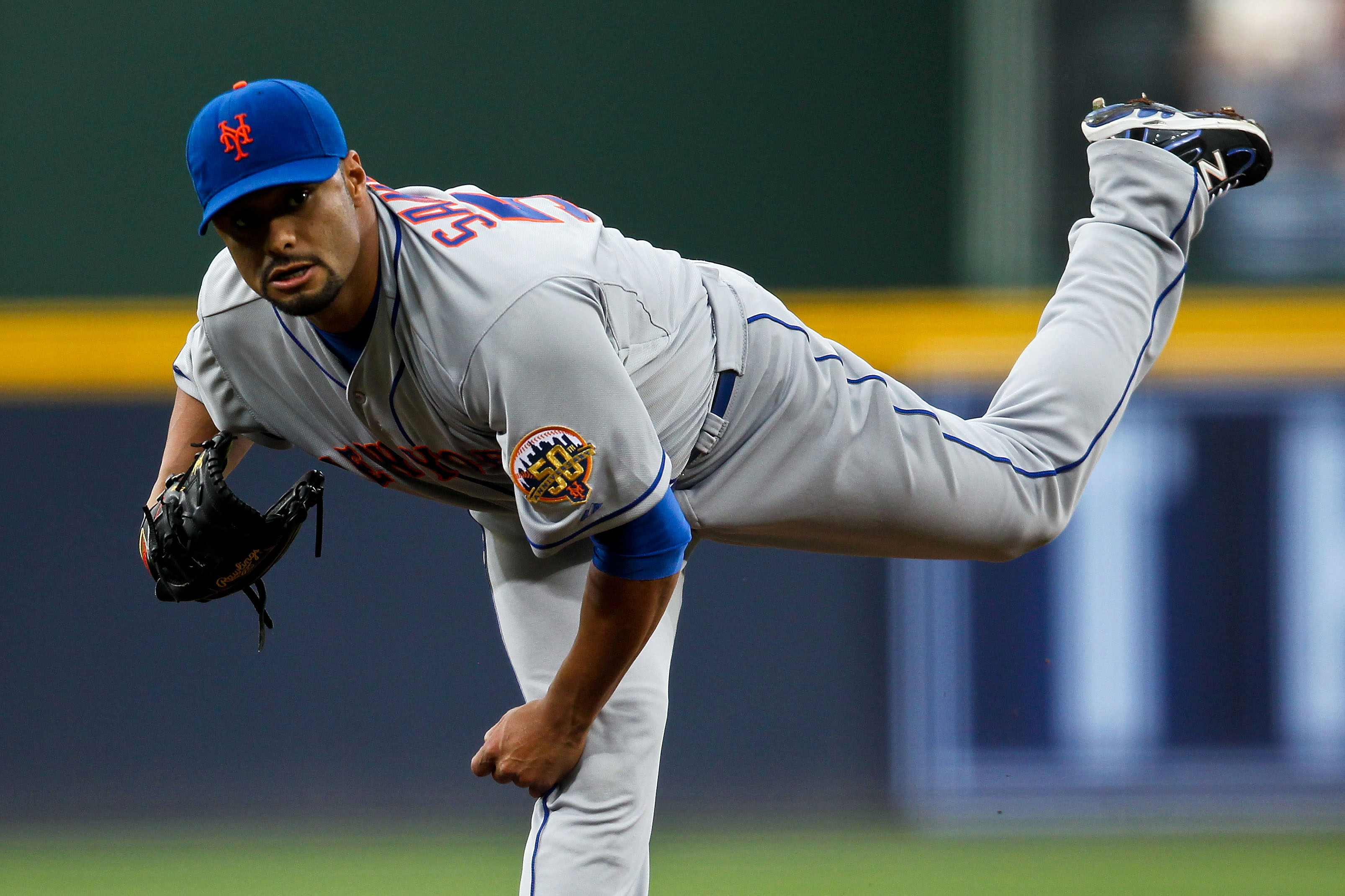 Braves Rough Up Santana In A 9-3 Mets Loss