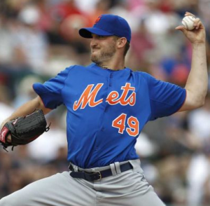 Niese goes for his 11th win of the season, which would tie his career high