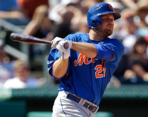 Apparently Lucas Duda would prefer to never use a glove again