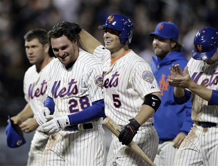 Daniel Murphy Is Coming Up Big For Mets