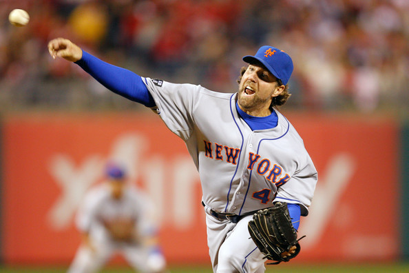 Dickey Gives Up 3 HR, Mets Lose to Braves 14-6