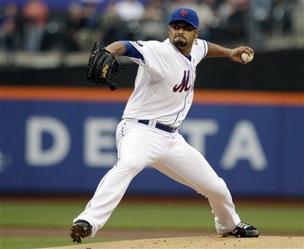 Santana Earns First Win Of The Season As Mets Top D-Backs 4-3