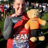 Taryn Cooper Joins Team McGraw In The 2012 ING New York City Marathon Honoring Gary Carter