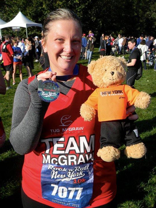 Taryn Cooper Joins Team McGraw In The 2012 ING New York City Marathon Honoring Gary Carter