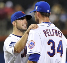 david wright mike pelfrey mets