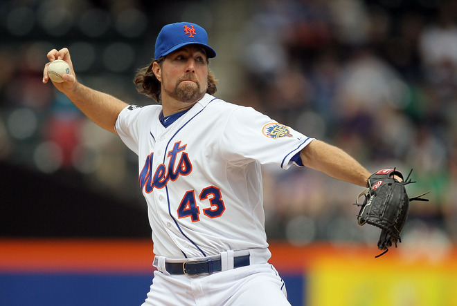 Mets Preview/Starting Lineup: Bay Out With Flu-Like Symptoms, Dickey Tries To Stop 3-Game Skid