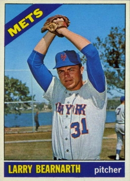 Old Time Mets: RHP Larry Bearnarth