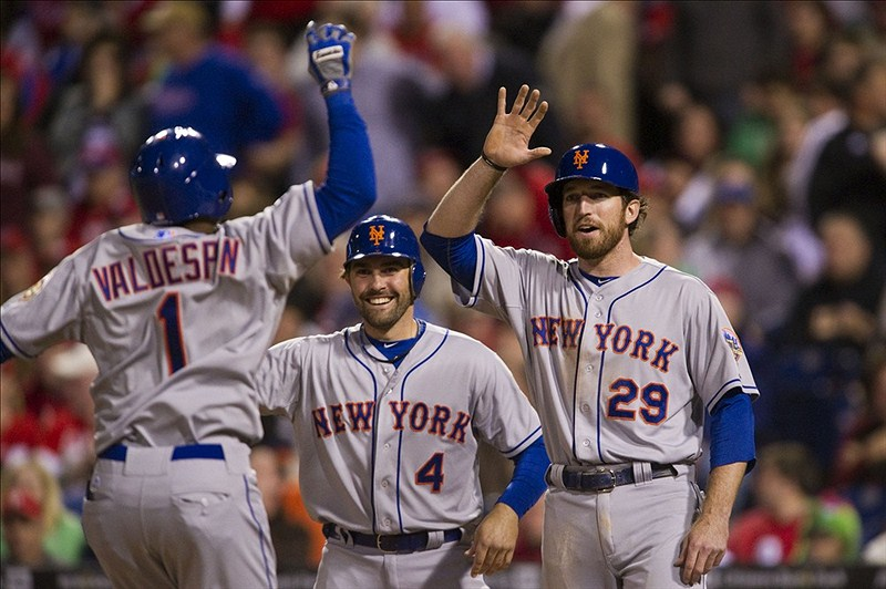Rookie Jordany Valdespin Belts A Pinch Hit Home Run In Mets 5-2 Comeback Win
