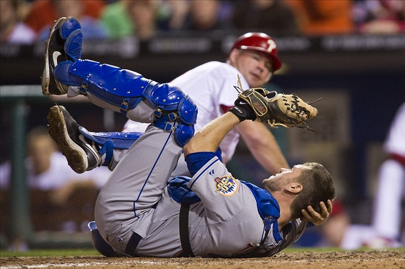 Thole Headed To 15 Day DL With Symptoms Of Concussion