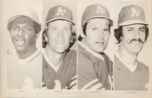 Abbott combined with three other pitchers to no-hit the Texas Rangers in 1975