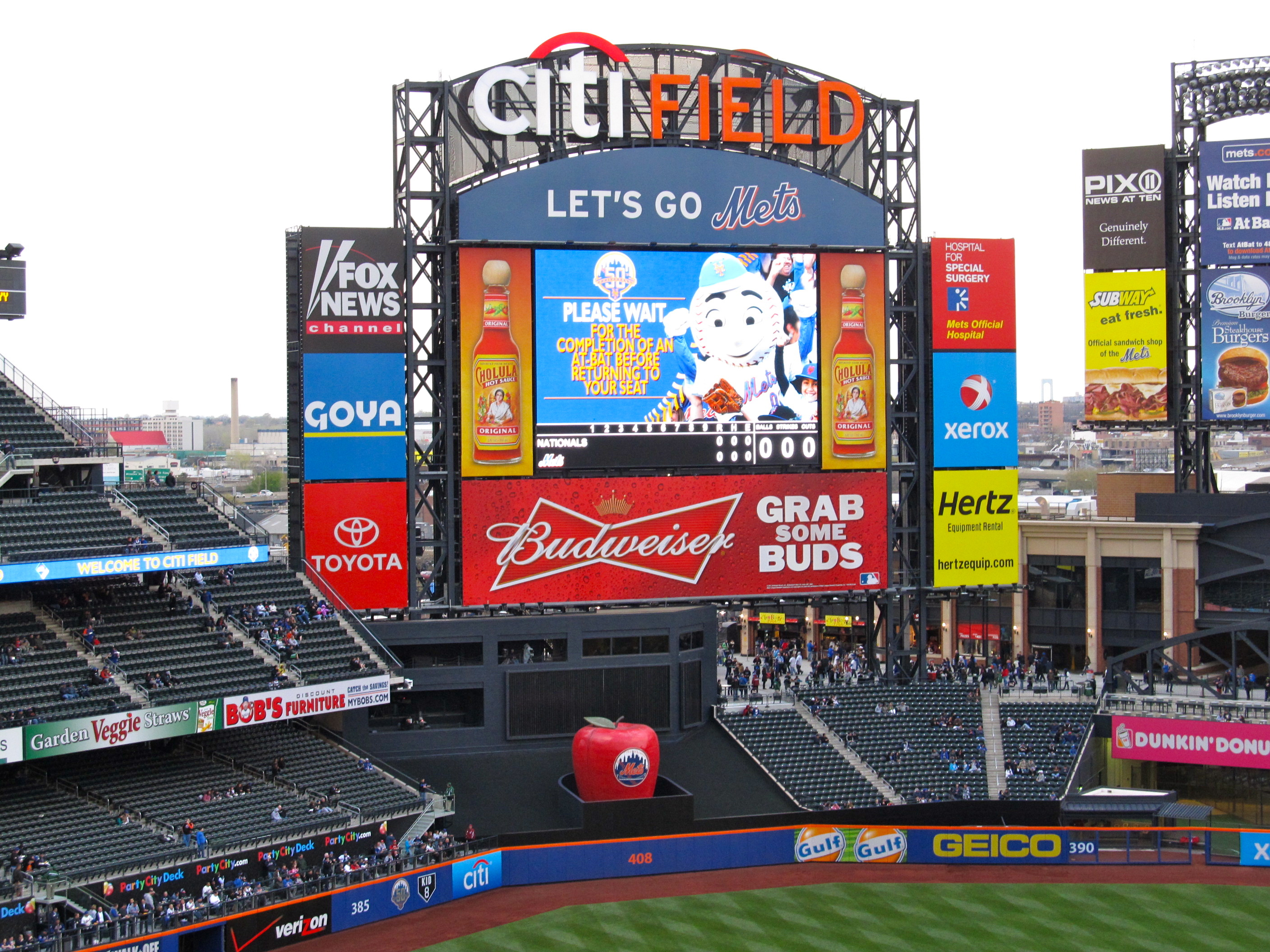Mets Announce Preliminary 2013 Schedule